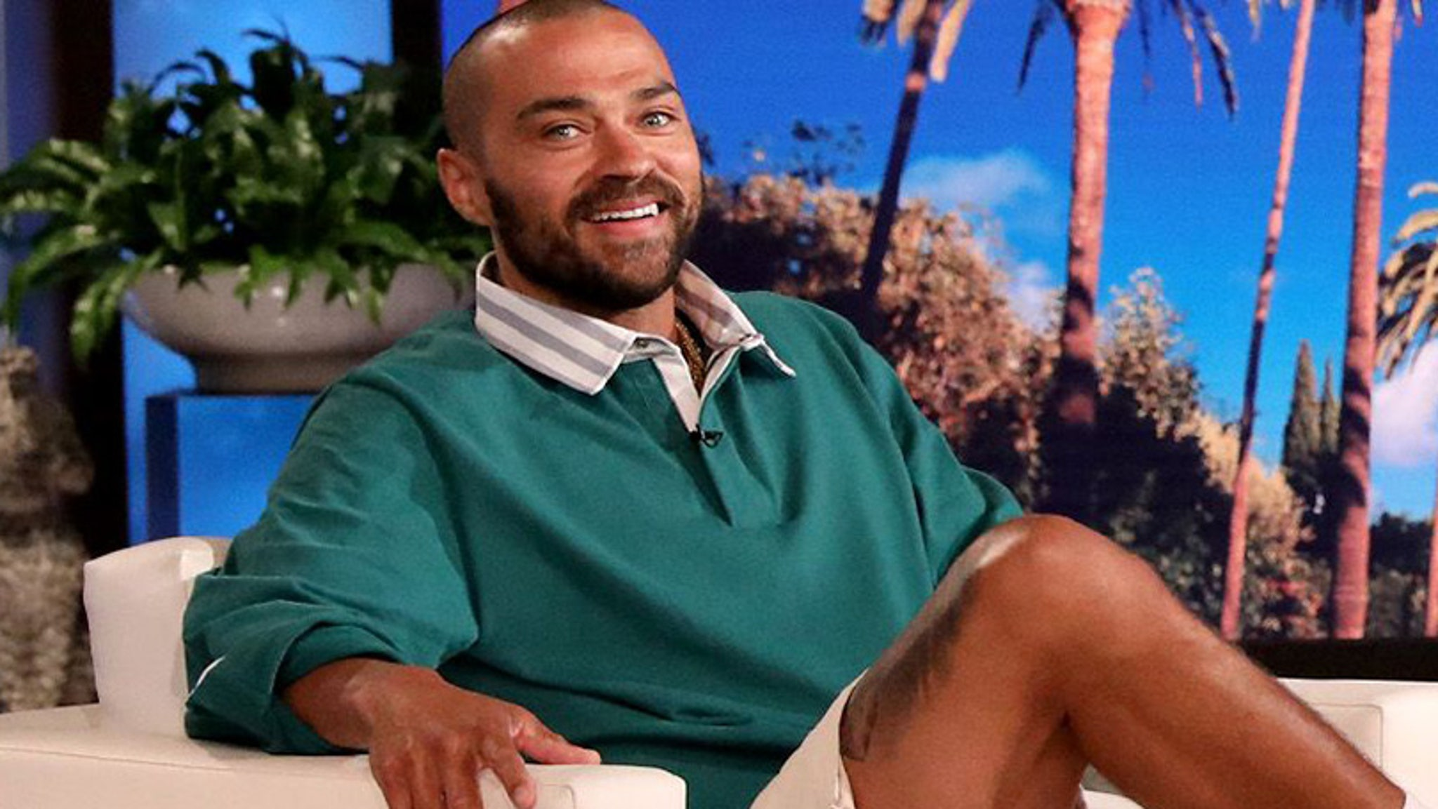 Jesse Williams on leaving Grey's Anatomy with Nude Broadway Debut