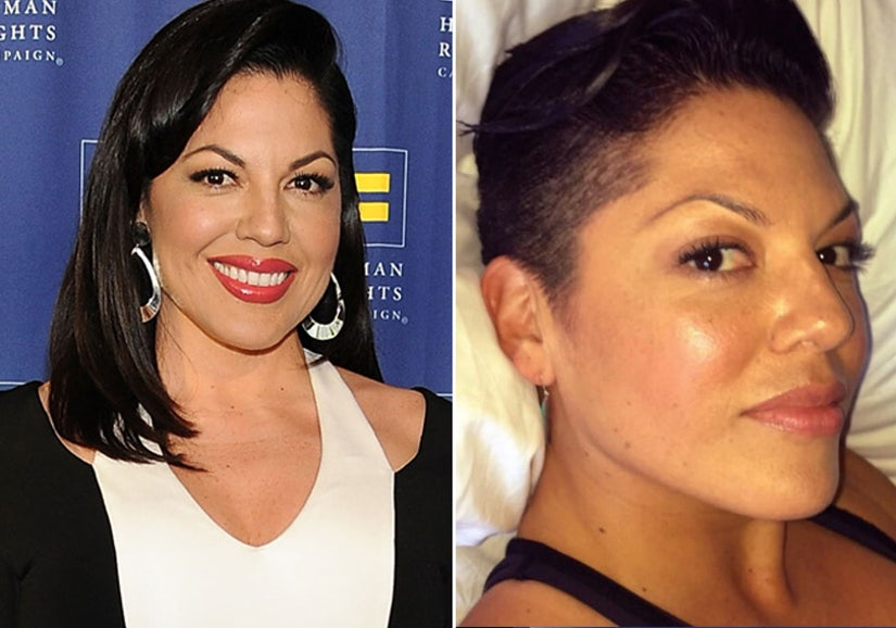 Sara Ramirez Shows Off Bold Buzz Cut on Instagram—See the Pic!