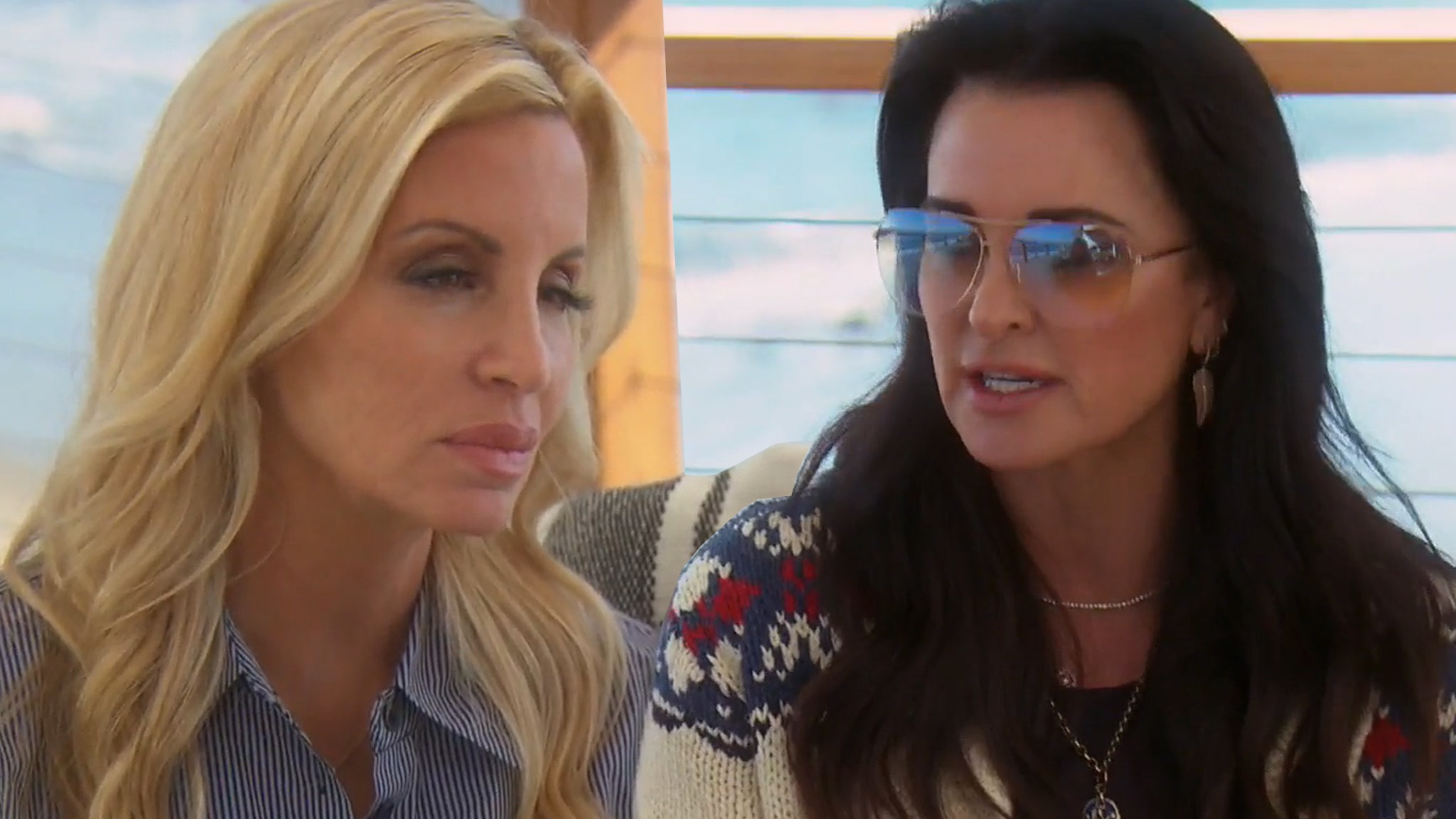 Kyle Richards Confronts Camille Grammer Over Nasty and 'Rude' Twitter Comments