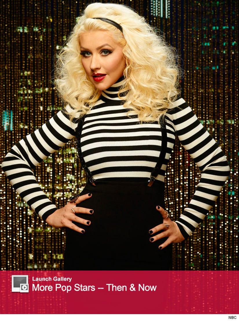 Christina Aguilera On Ellen 2010 - Christina Aguilera