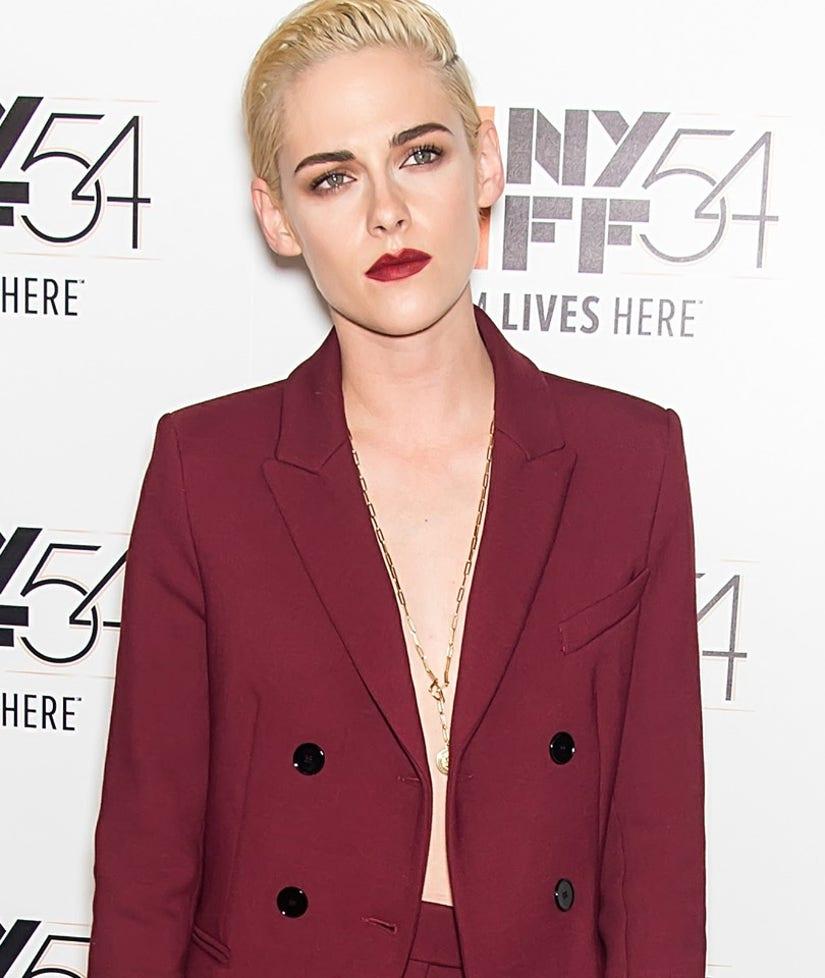 Kristen Stewart Goes Topless Under Her Blazer, While Kim & Kourtney Kardashian Show Major Skin