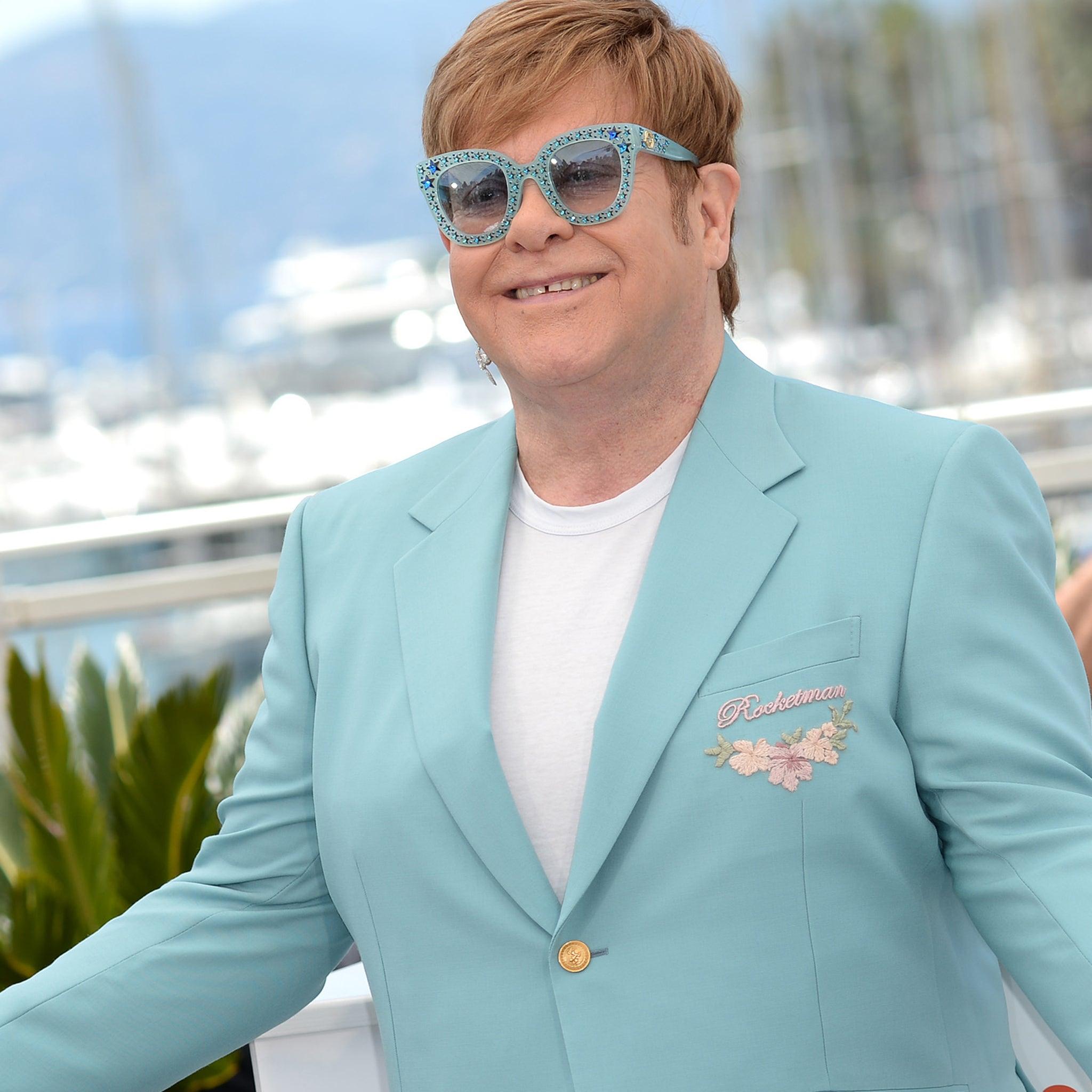 Elton John S Brother Claims Rocketman Rewrites Family History