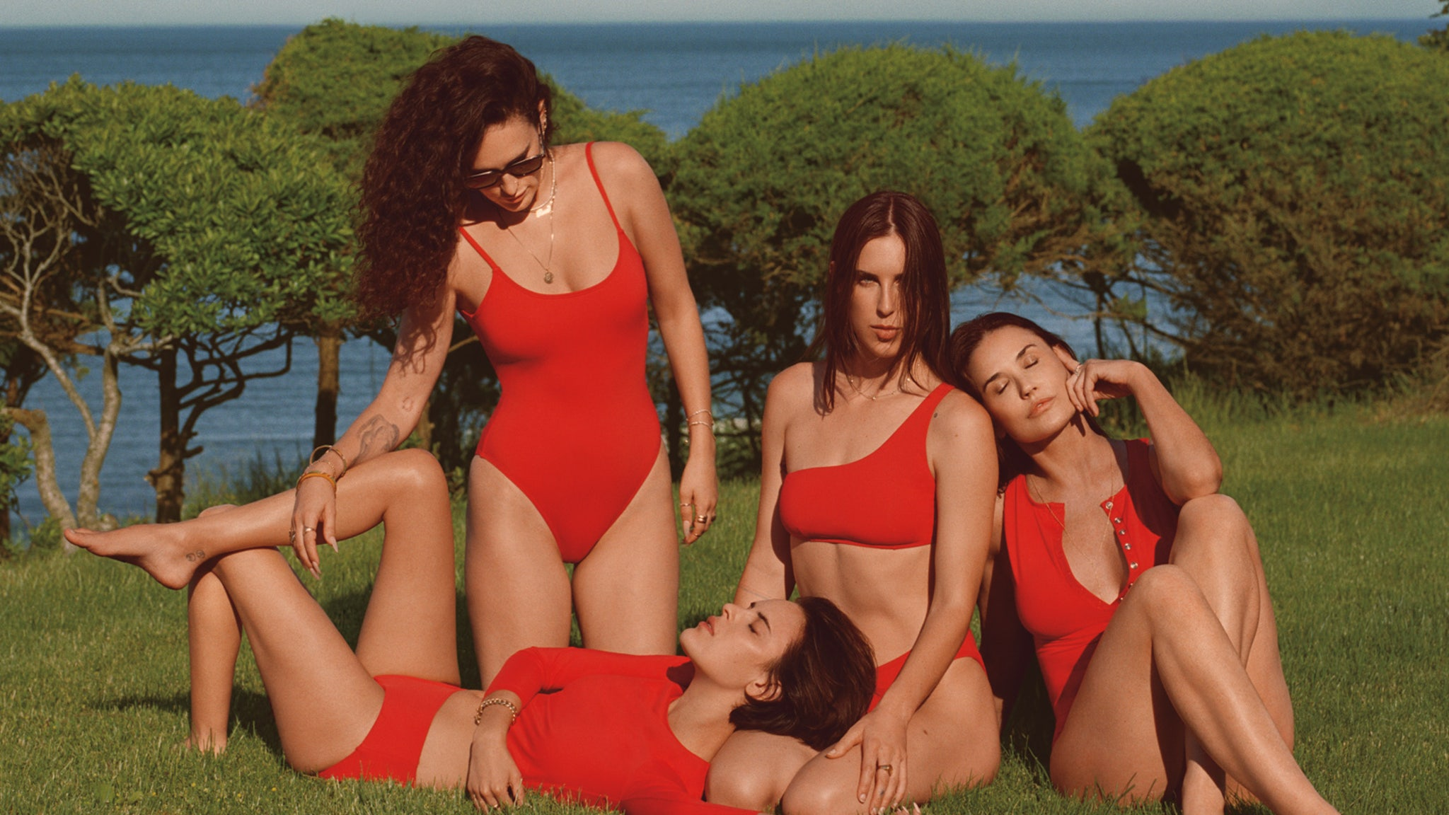 Demi Moore sizzles alongside her daughters in Andie's swimwear campaign