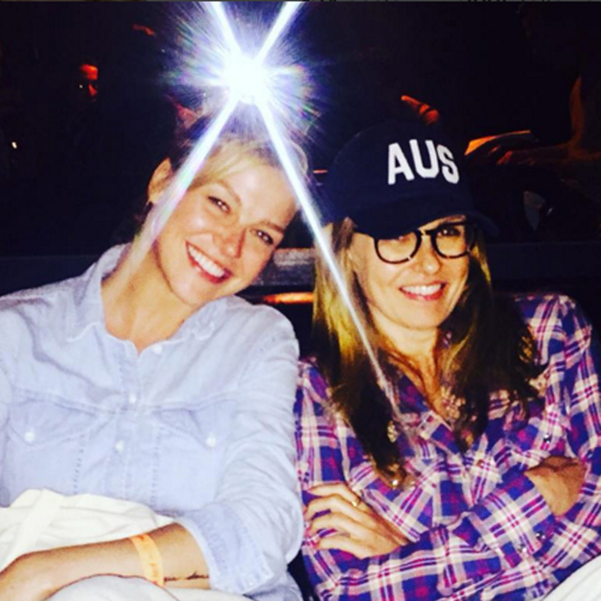 Texas Forever Connie Britton Has Mini Friday Night Lights Reunion With Adrianne Palicki