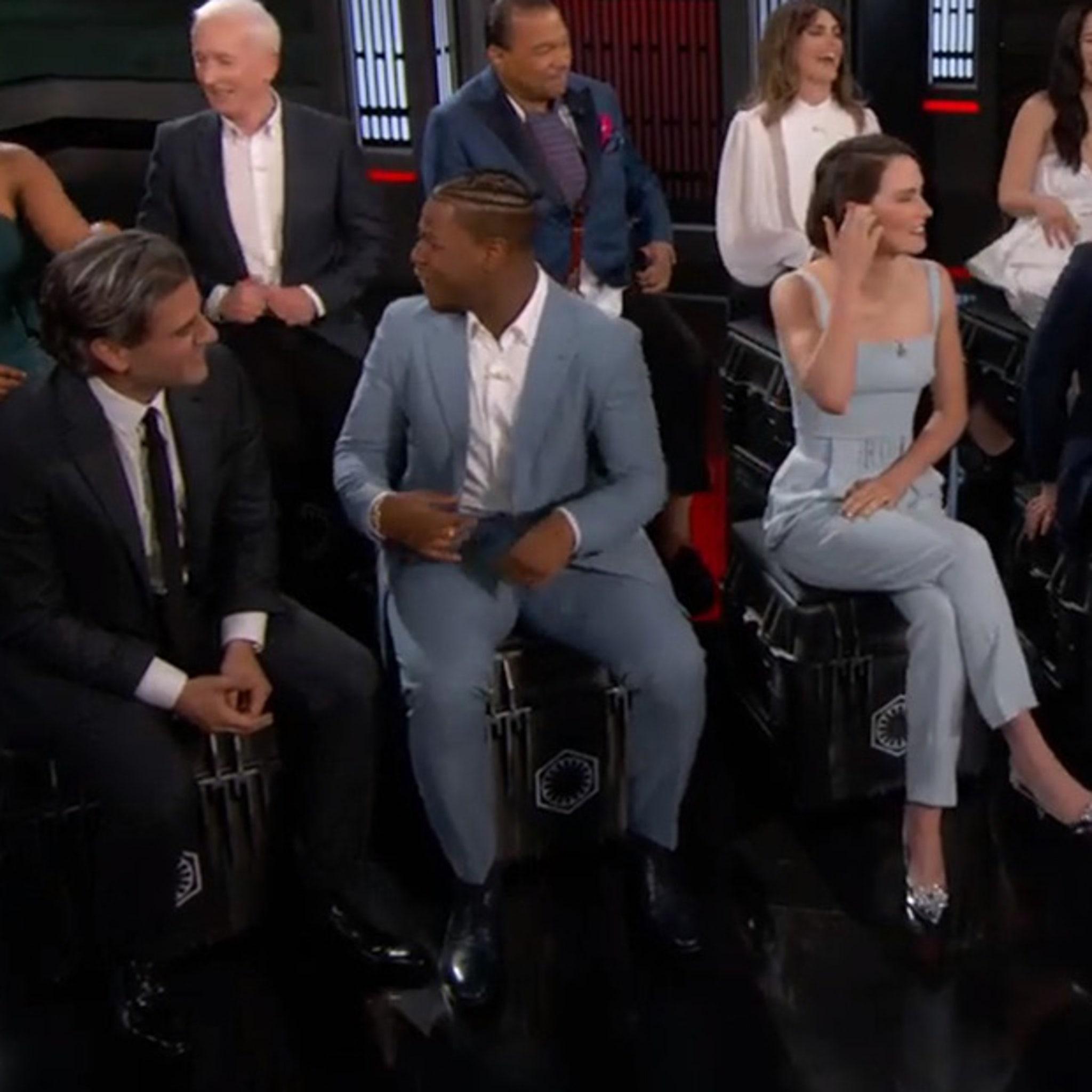 Star Wars The Rise Of Skywalker Cast On Jimmy Kimmel Live