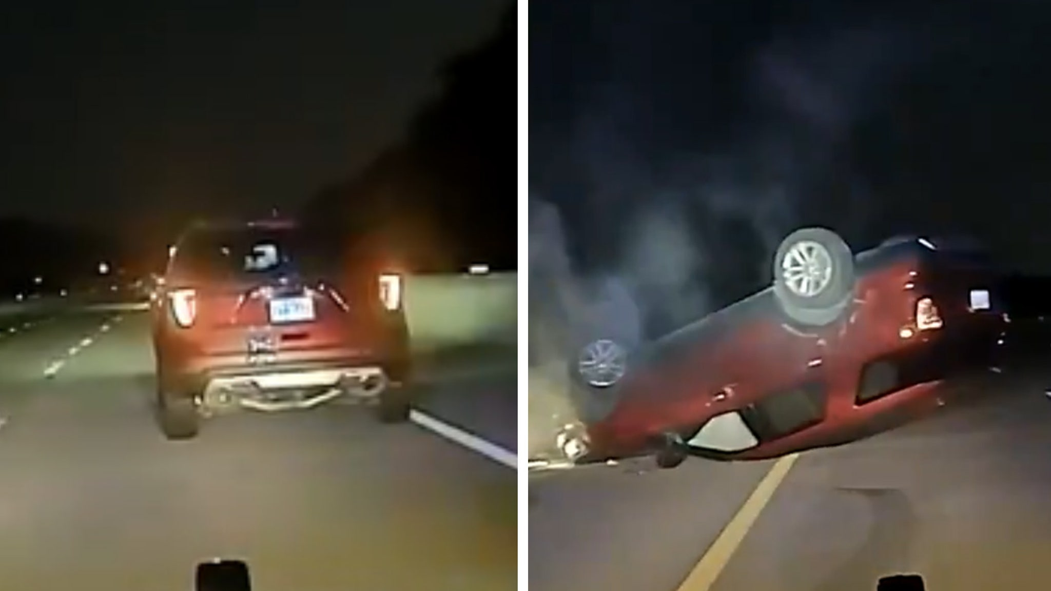 Arkansas police sued for overturning car of pregnant woman who 'stopped too slowly'