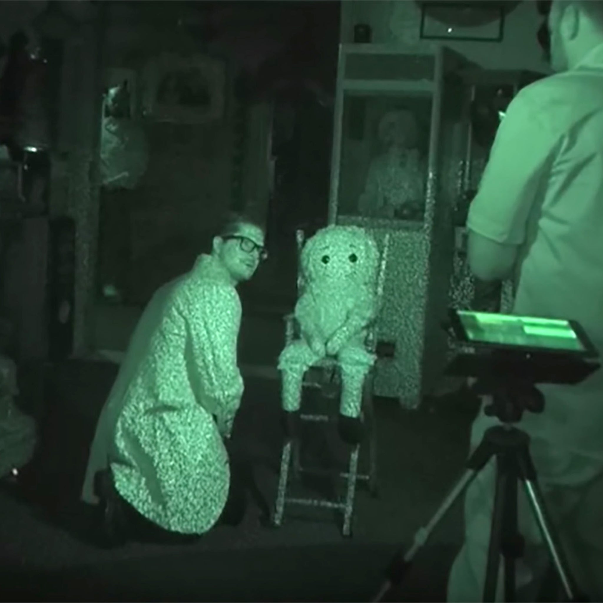 Ghost Adventures Host Zak Bagans Met the Real-Life Annabelle