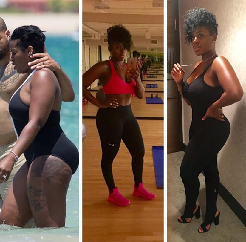 "Fantasia Barrino Flaunts Impressive Weight Loss -- ""I Feel Great!"""
