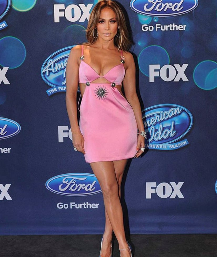 Even Jennifer Lopez Can T Pull Off This Pink Cutout Dress