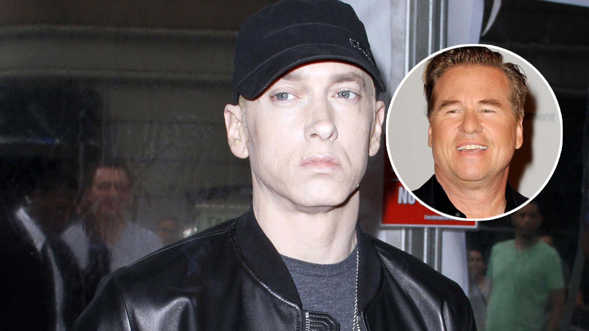 Eminem Spills on Val Kilmer Seeing Him Naked: Been