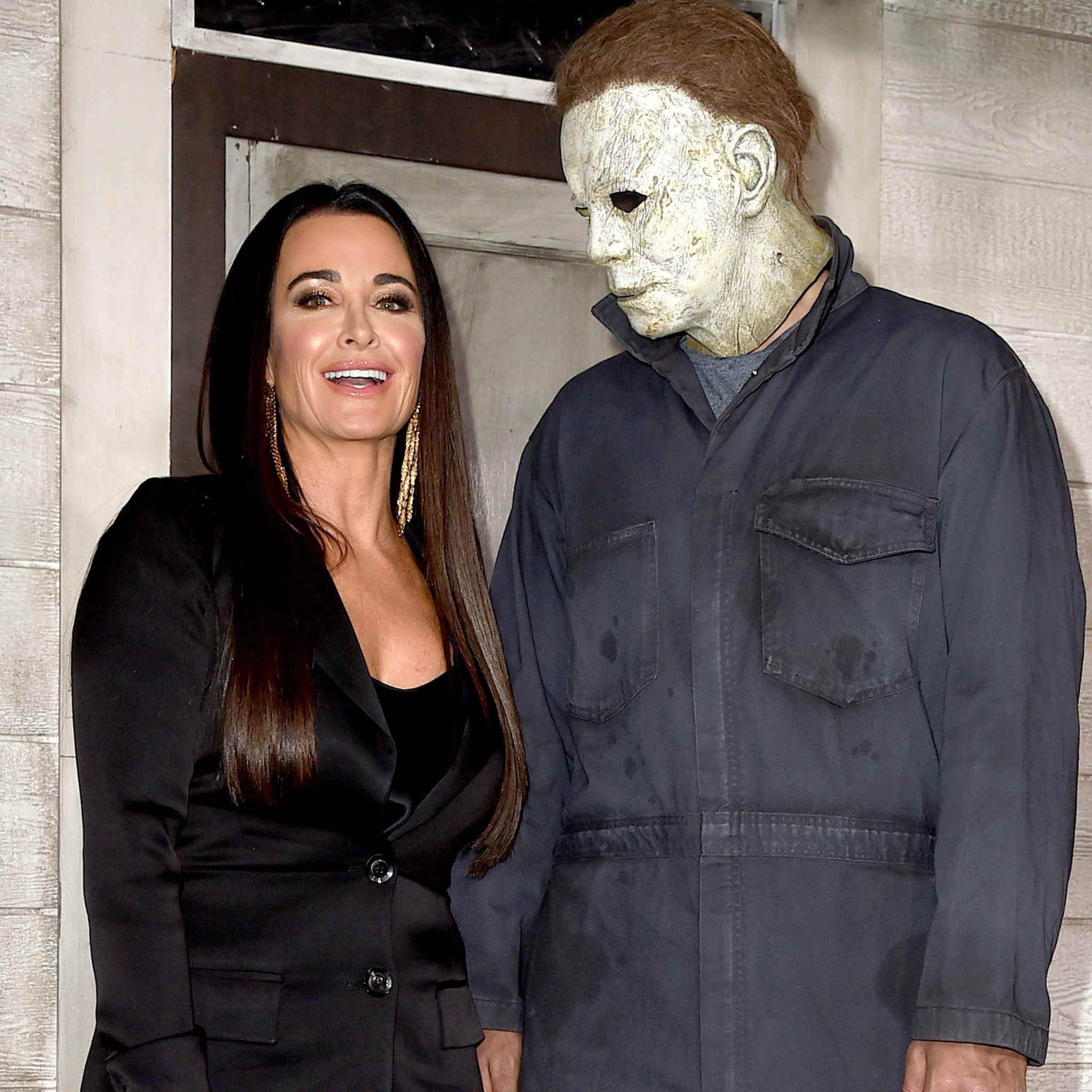 Have They Started Filming Halloween 2020 Kyle Richards Reveals How She Broke Her Nose Filming Halloween Kills