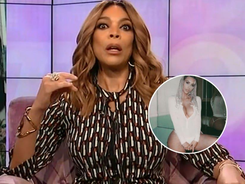 Wendy Williams Says Kim Kardashians Nude Photo Blitz Is Sign