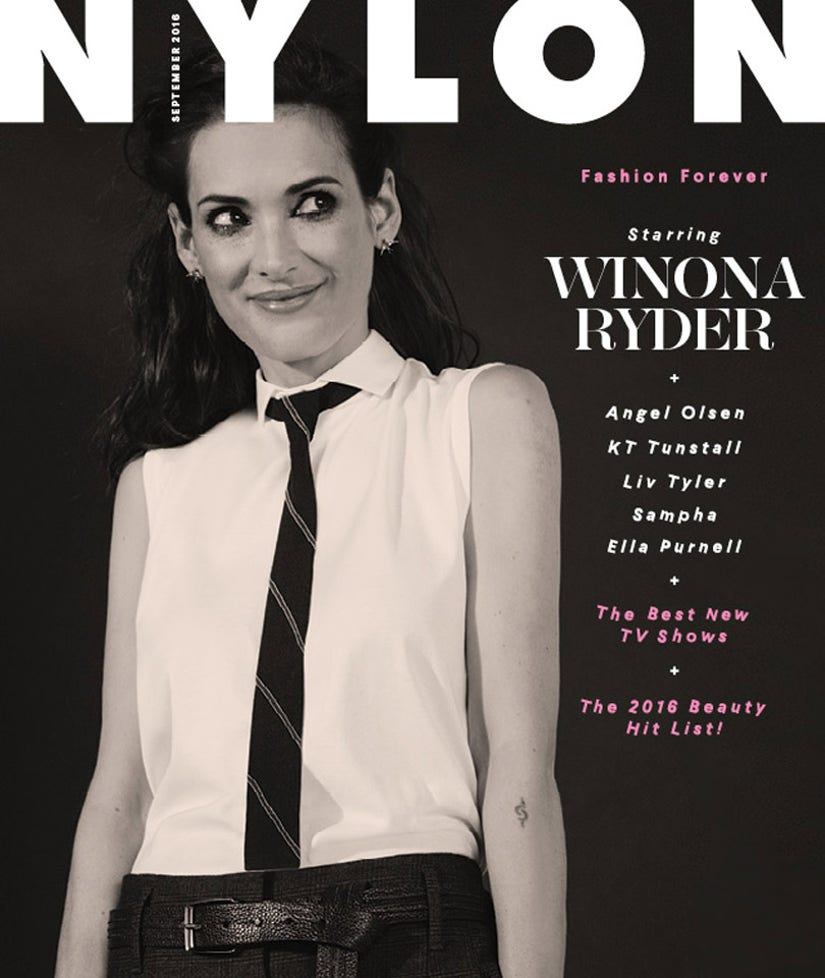 "Winona Ryder Dishes on Long Career: ""I Never Really Had Any Hang-Ups About Aging"""