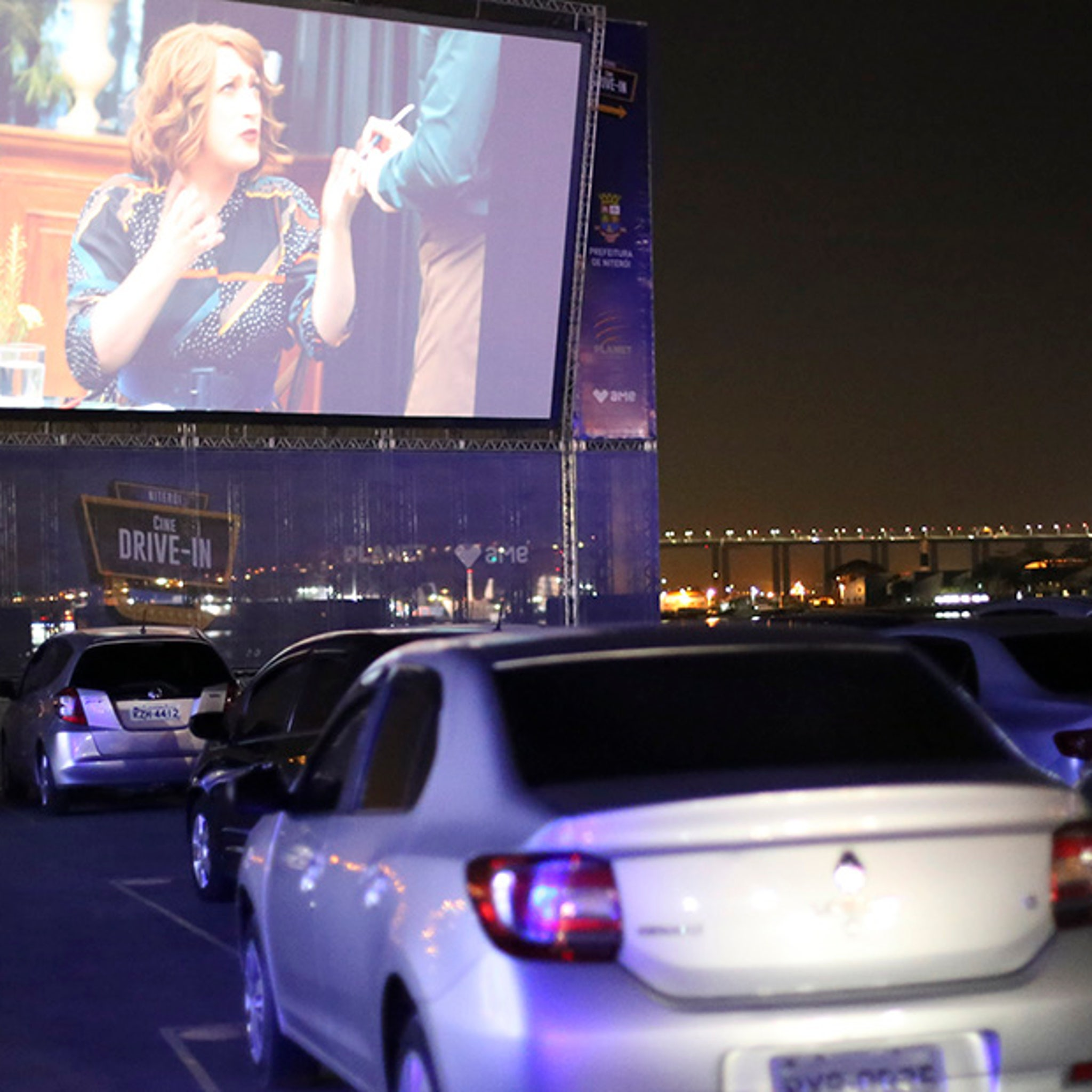 Walmart Partners With Tribeca For Parking Lot Drive In Movies