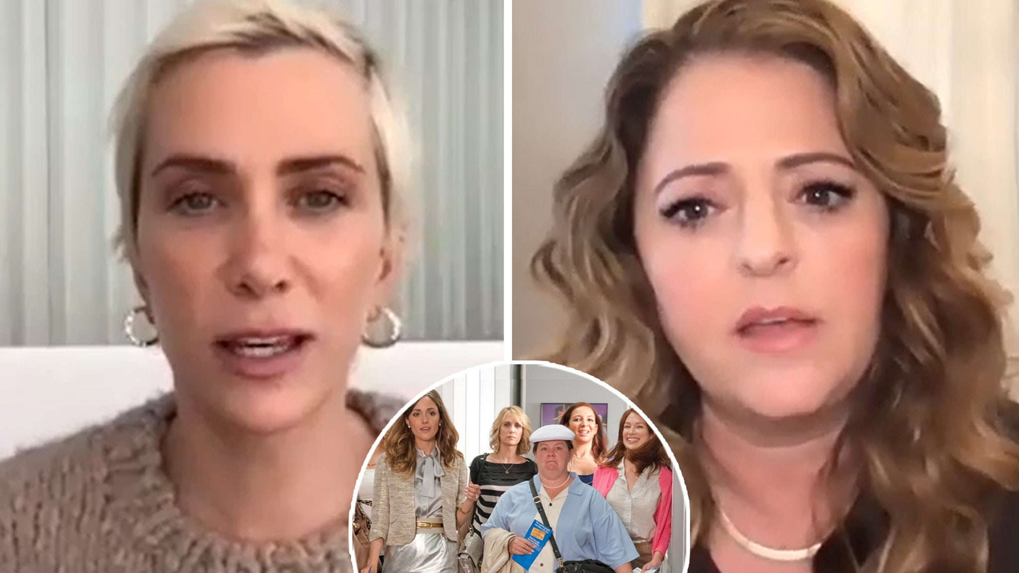 Kristen Wiig and Annie Mumolo Explain Why There Will Never Be a Bridesmaids Sequel - TooFab
