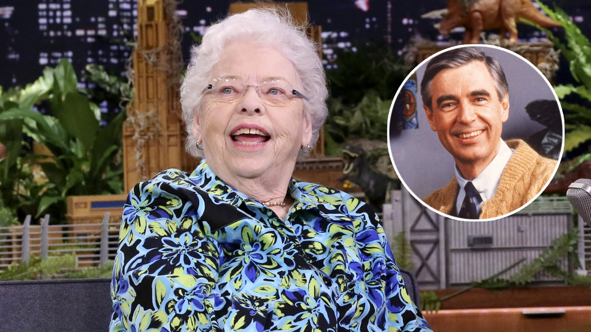 6 Things We Learned About Mr Rogers From Mrs Rogers On Tonight Show