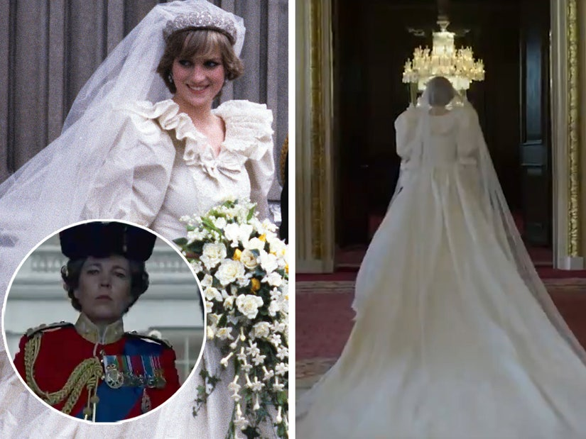 princess diana wedding veil