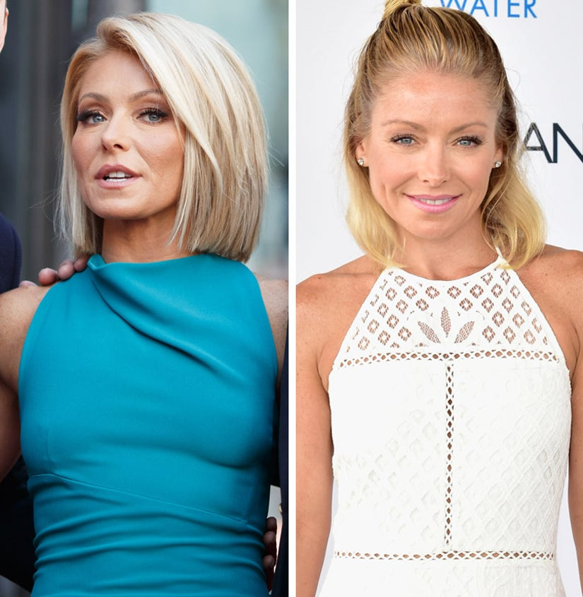"""Kelly Ripa Reveals She Got """"Bad Botox"""" -- And It's Just Starting to Wear Off"""
