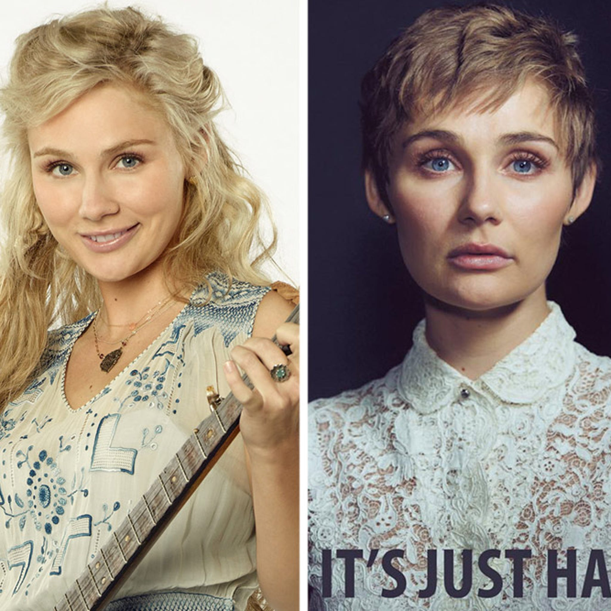 """Nashville"""" Star Clare Bowen Cuts Off Her Hair -- And Her Reason"""