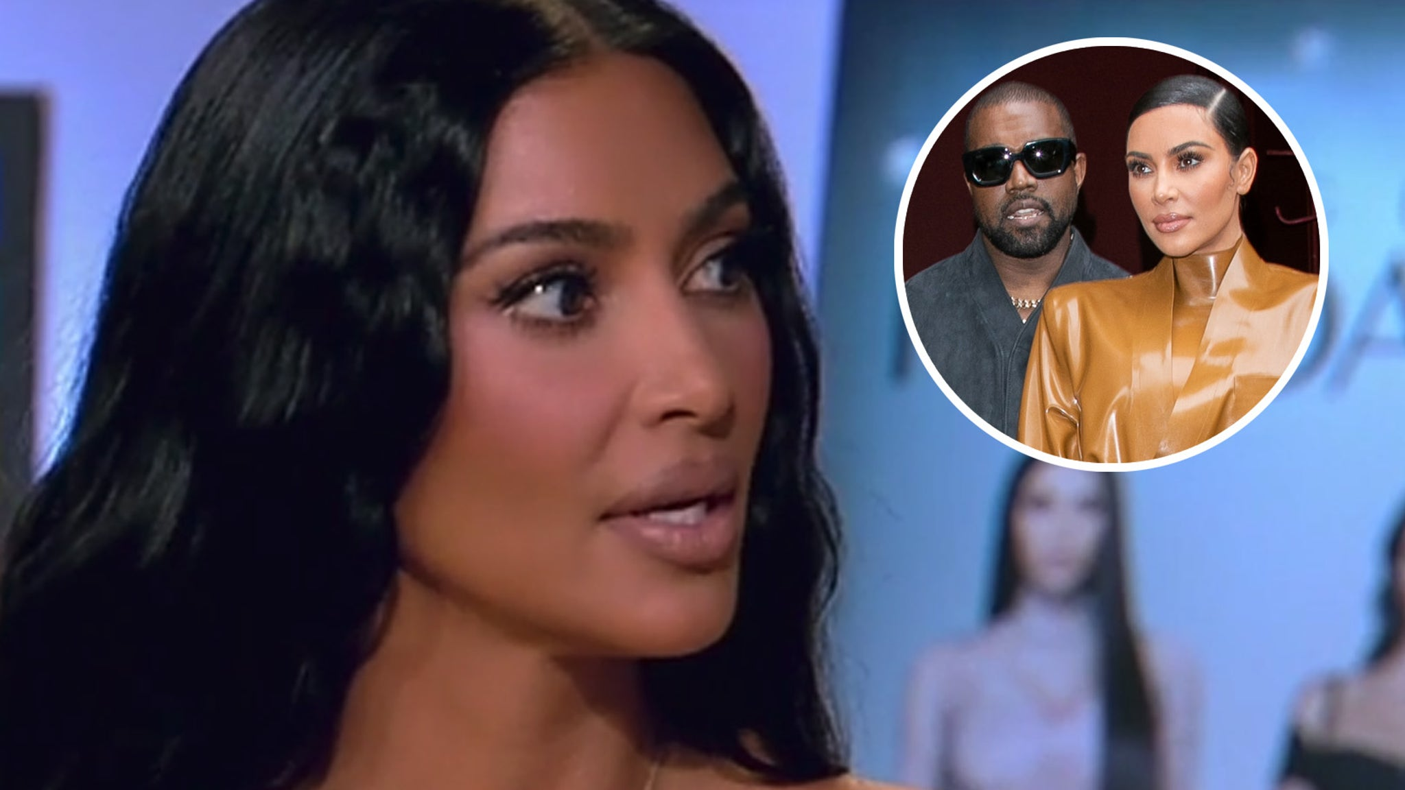 Kim Kardashian explains Kanye West's split and her relationship with him now at KUWTK Reunion