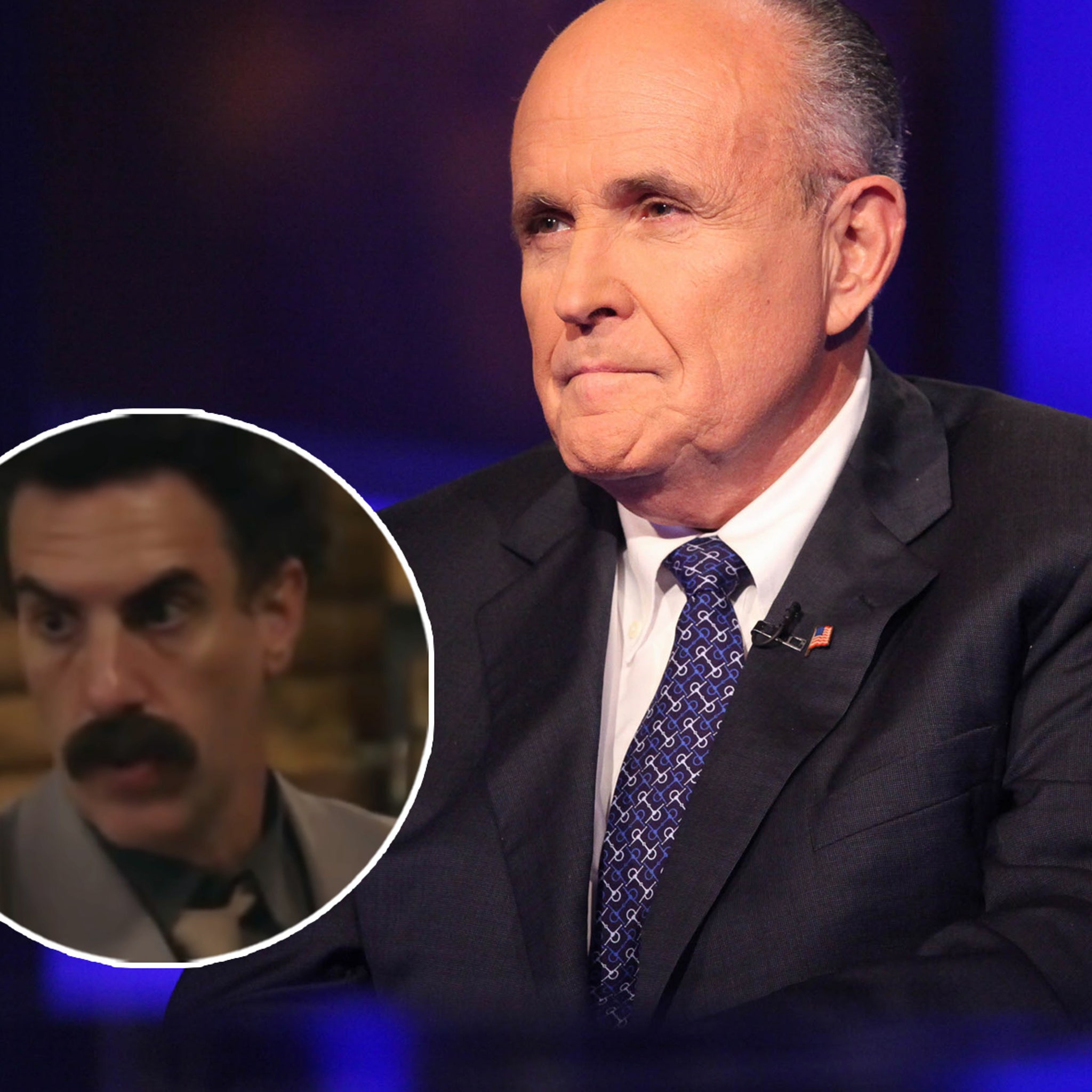 Twitter Reacts to Rudy Giuliani's VERY Awkward Scene in Borat Sequel