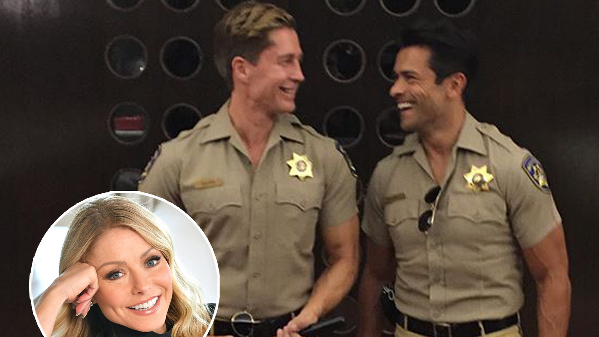 Kelly Ripa Addresses Mark Consuelos' Bulge After Fans Share NSFW Comments – TooFab