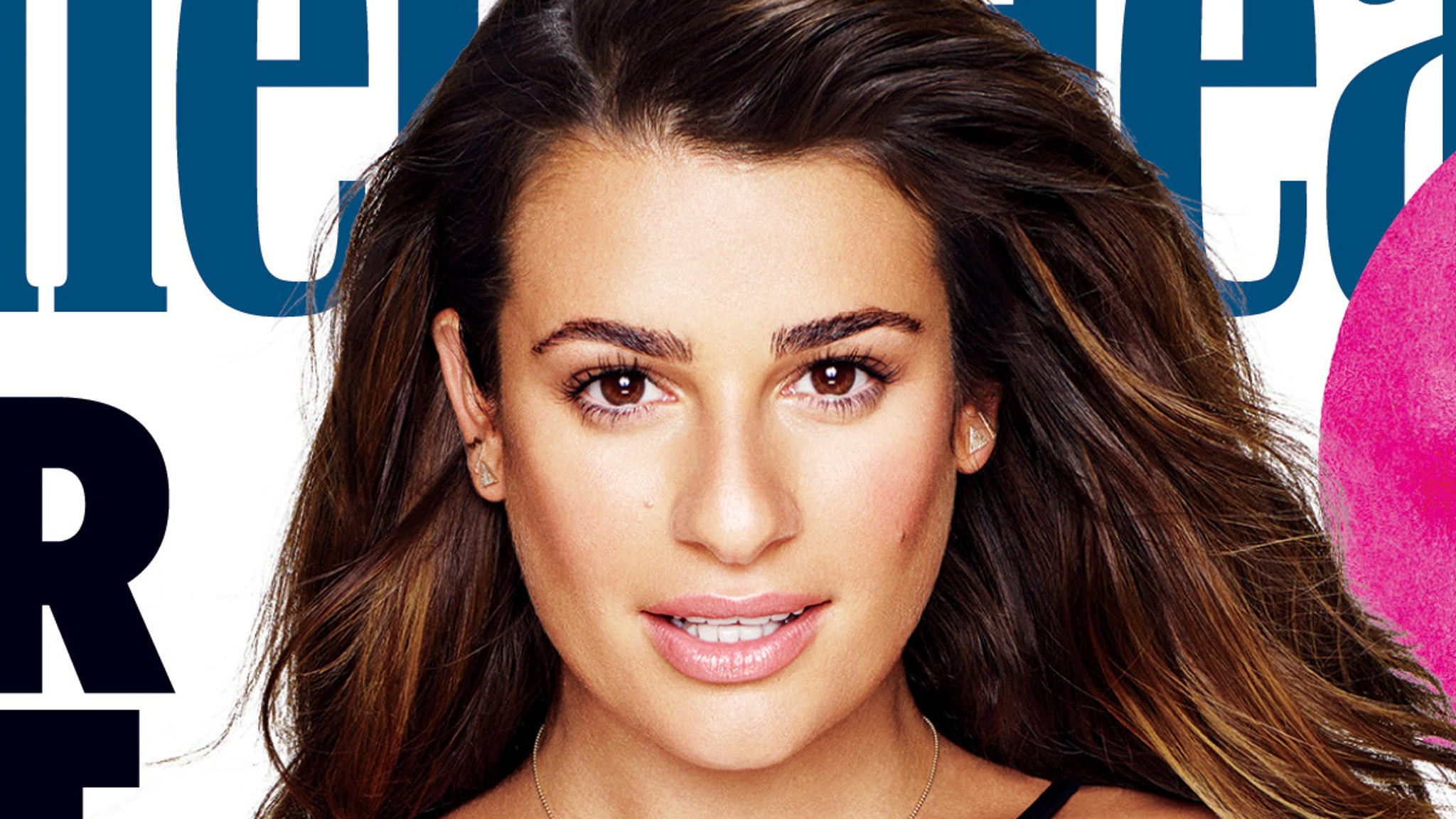 Lea Michele Strips Naked For Issue of UK Womens Health