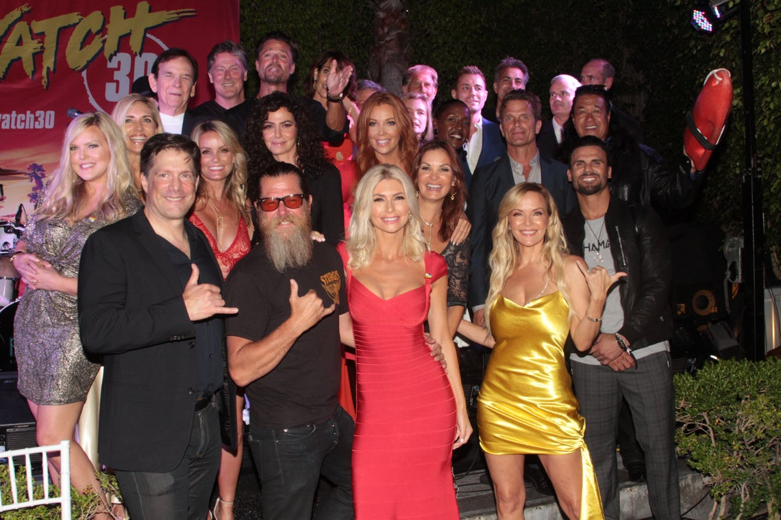 The Cast Of Baywatch Reunites To Celebrate 30th Anniversary