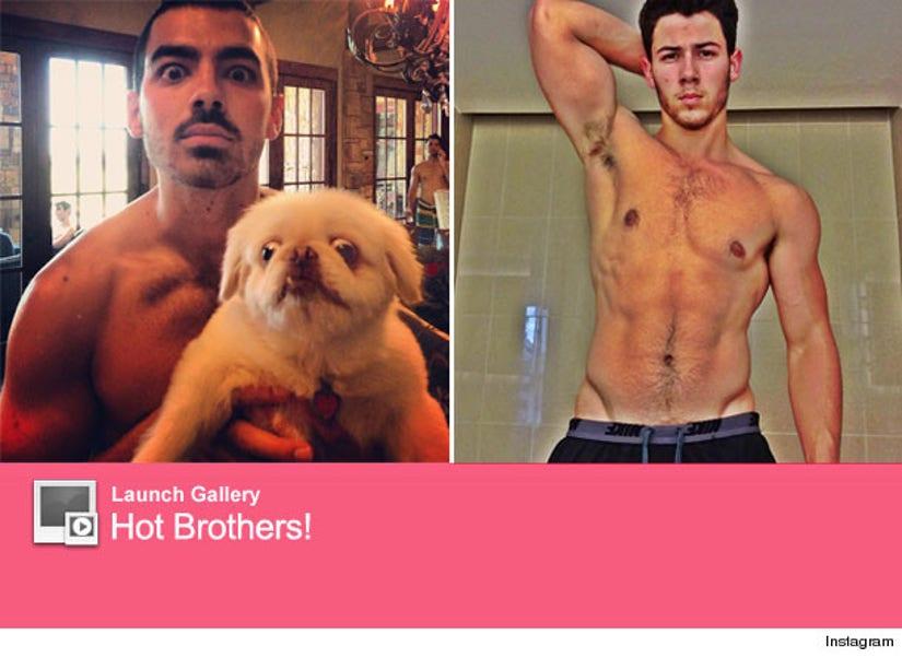 Joe Jonas Posts Shirtless Selfie Of His Own