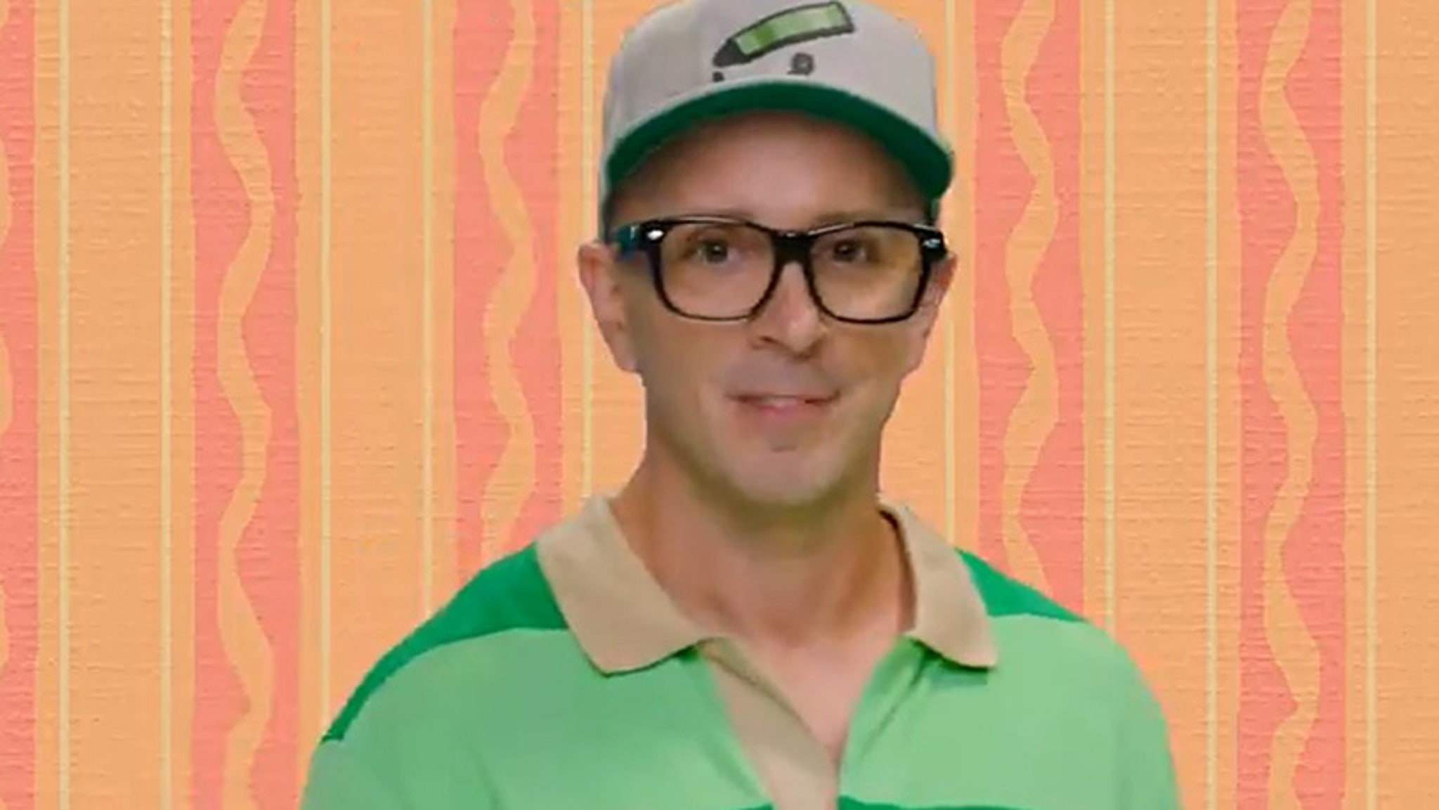 Steve Checks in for Blues Clues 25th Anniversary with