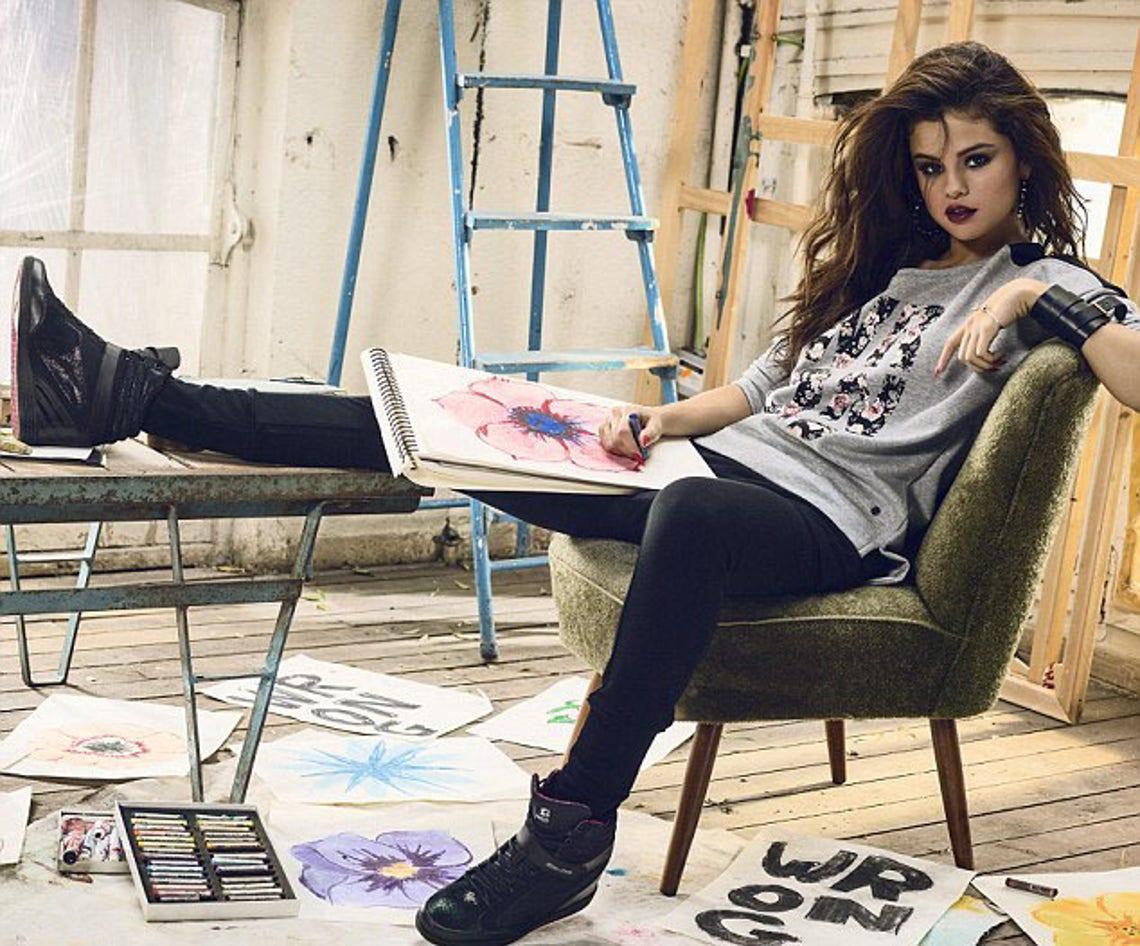 gato Converger Apariencia  Selena Gomez for adidas NEO