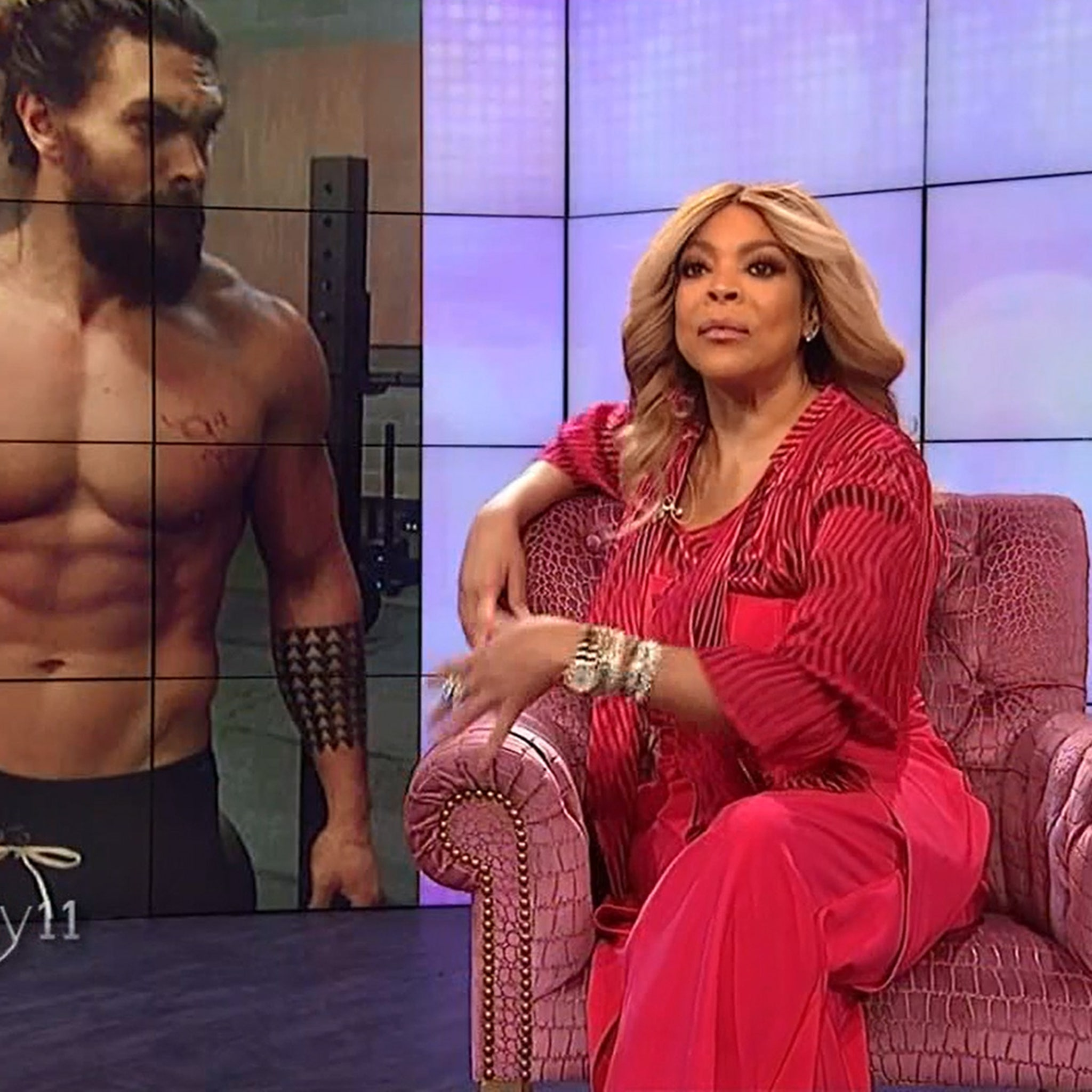 Why Wendy Williams Wants Jason Momoa As Sexiest Man Alive Not