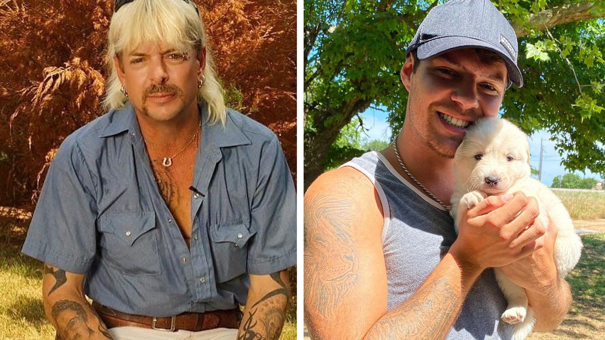 Dillon Passage Reacts After Husband Joe Exotic Calls Him Out On Social Media - TooFab