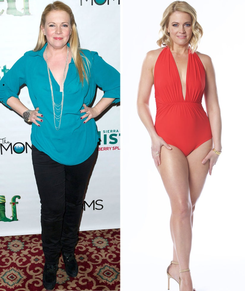 Melissa Joan Hart Flaunts 40-Pound Weight Loss in Sexy Swimsuit -- So, How Does She Keep It Off?!