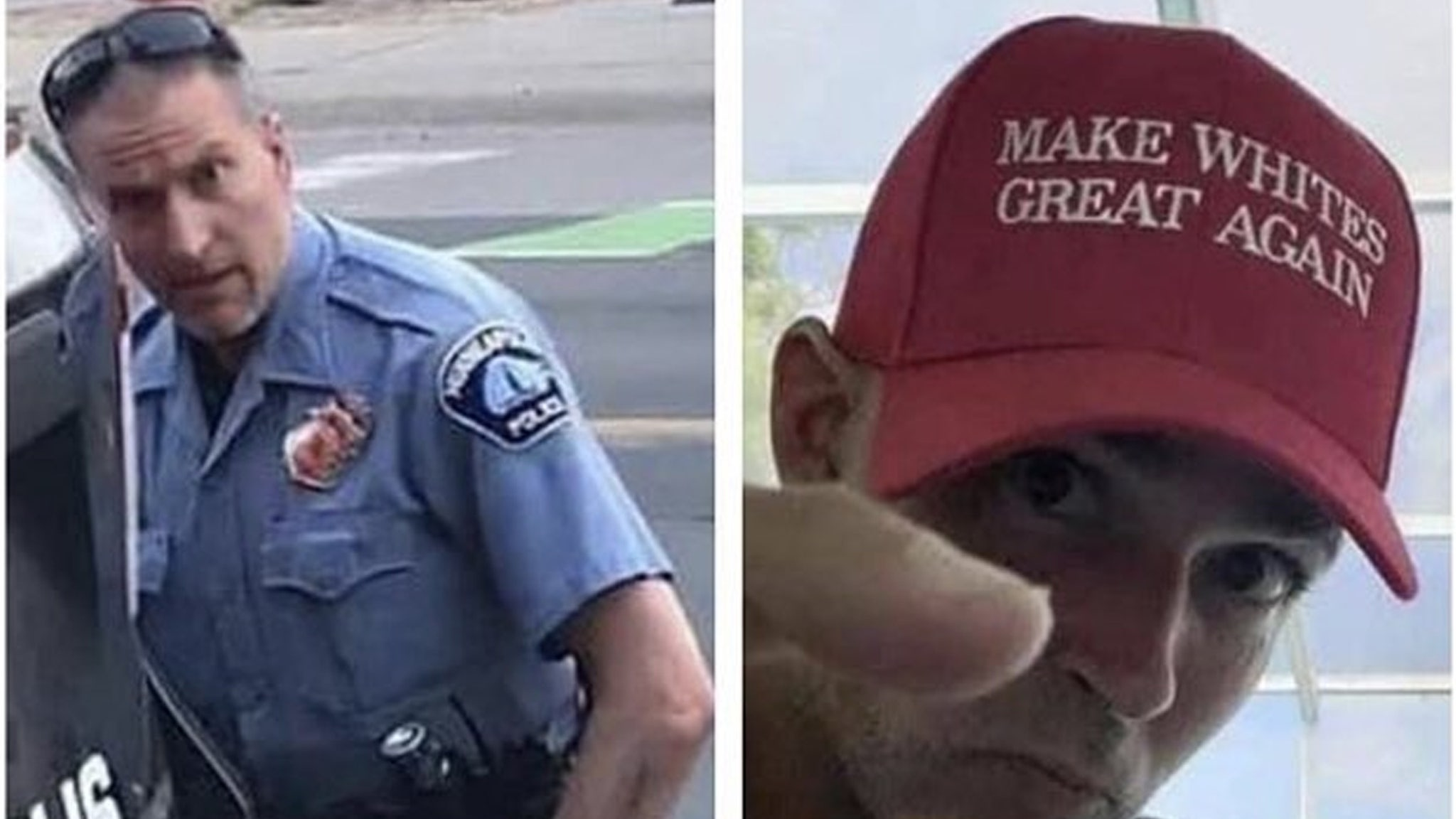 'Make Whites Great Again' Guy Is Not George Floyd Cop, But ...