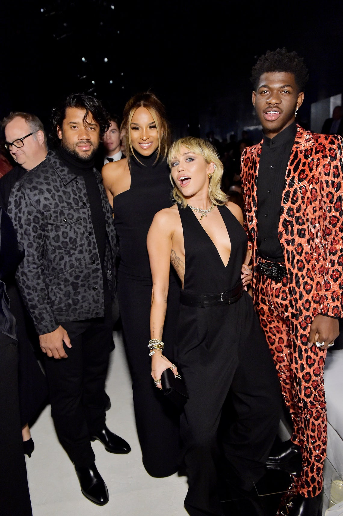 Kylie Jenner J Lo Miley Cyrus And More A Listers Hit Up Tom Ford S Aw20 Show