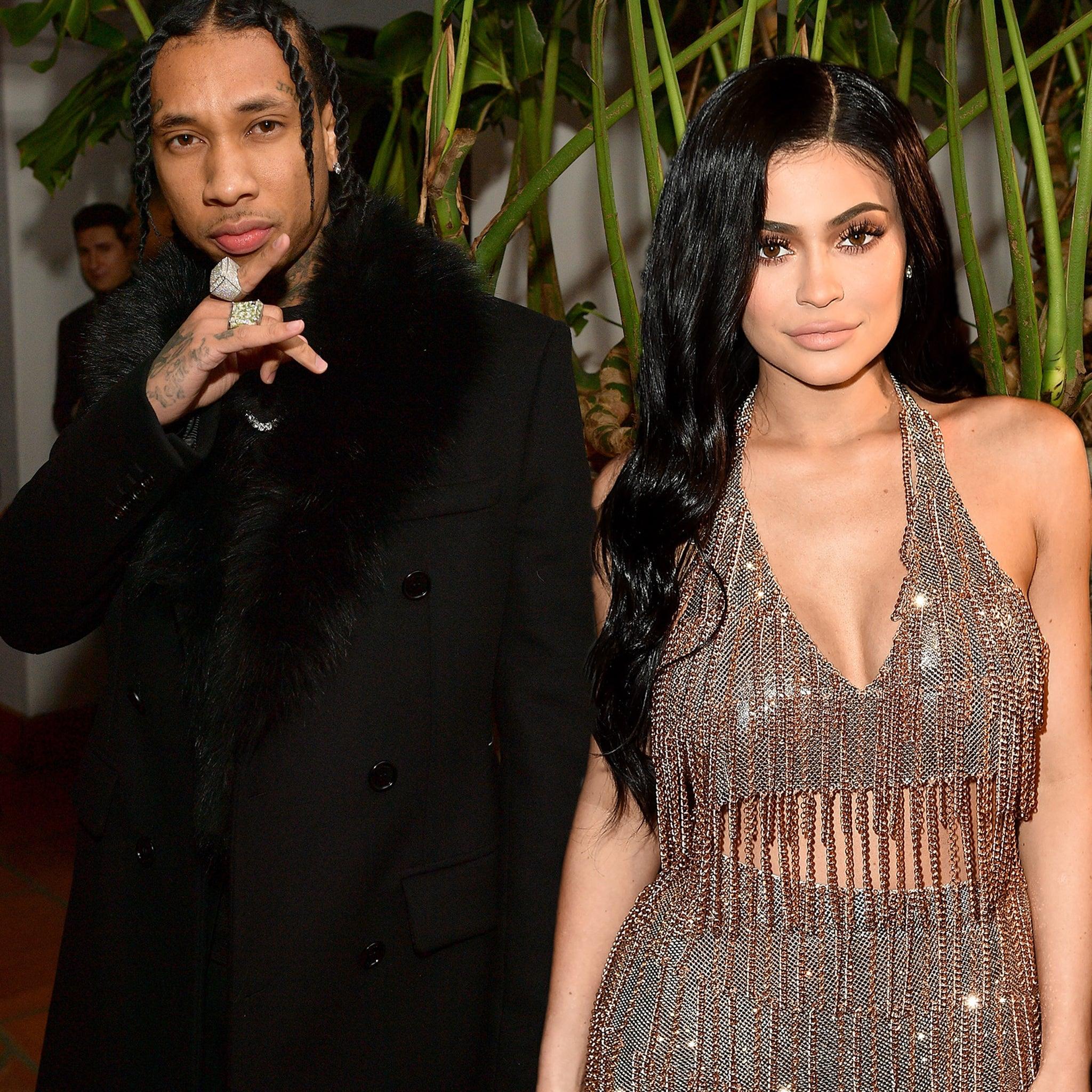Kylie Jenner And Tyga Photoshoot