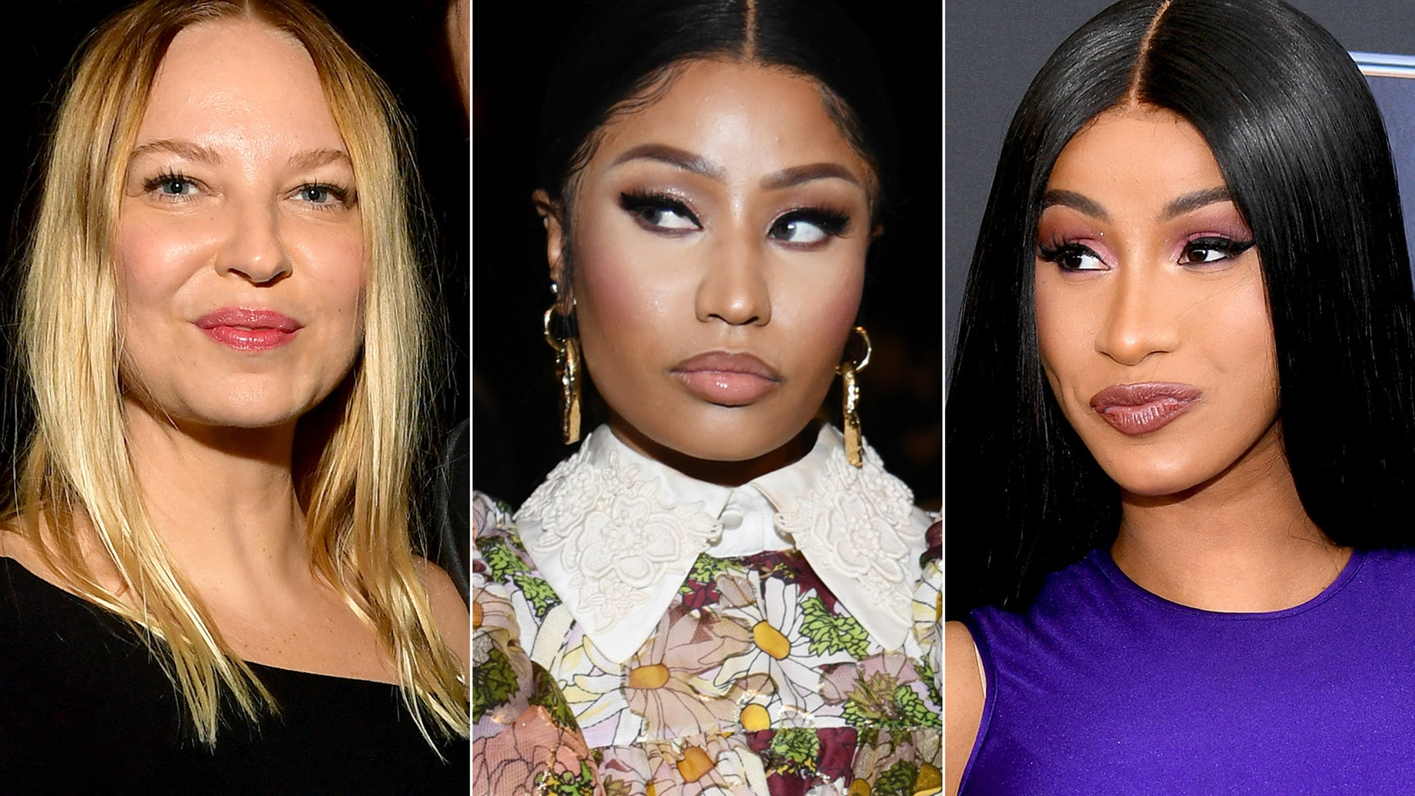 Sia Apologizes, Feels Like 'Buffoon' After Mixing Up Nicki Minaj and Cardi B - TooFab
