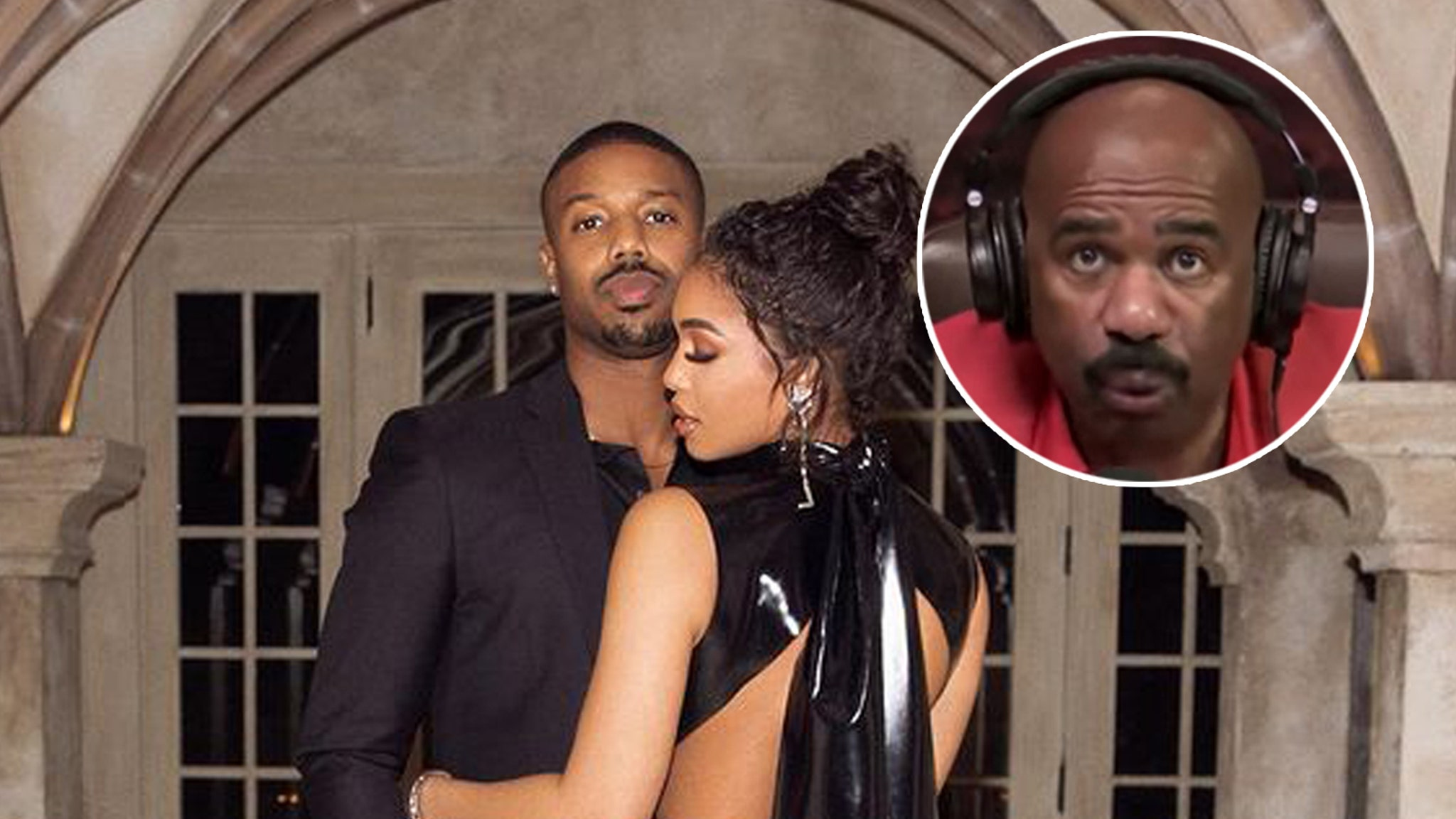 Steve Harvey Isn't That Impressed by His Daughter's Loris Boyfriend Michael B. Jordan
