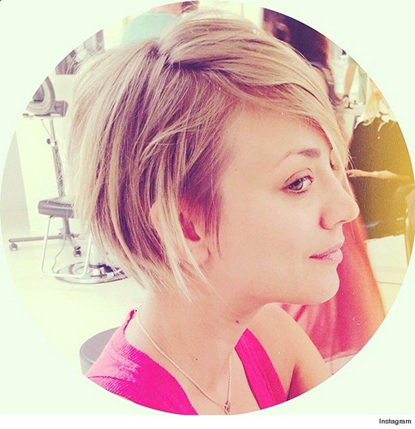 Kaley Cuoco Gets New Peter Pan Haircut See The Pic
