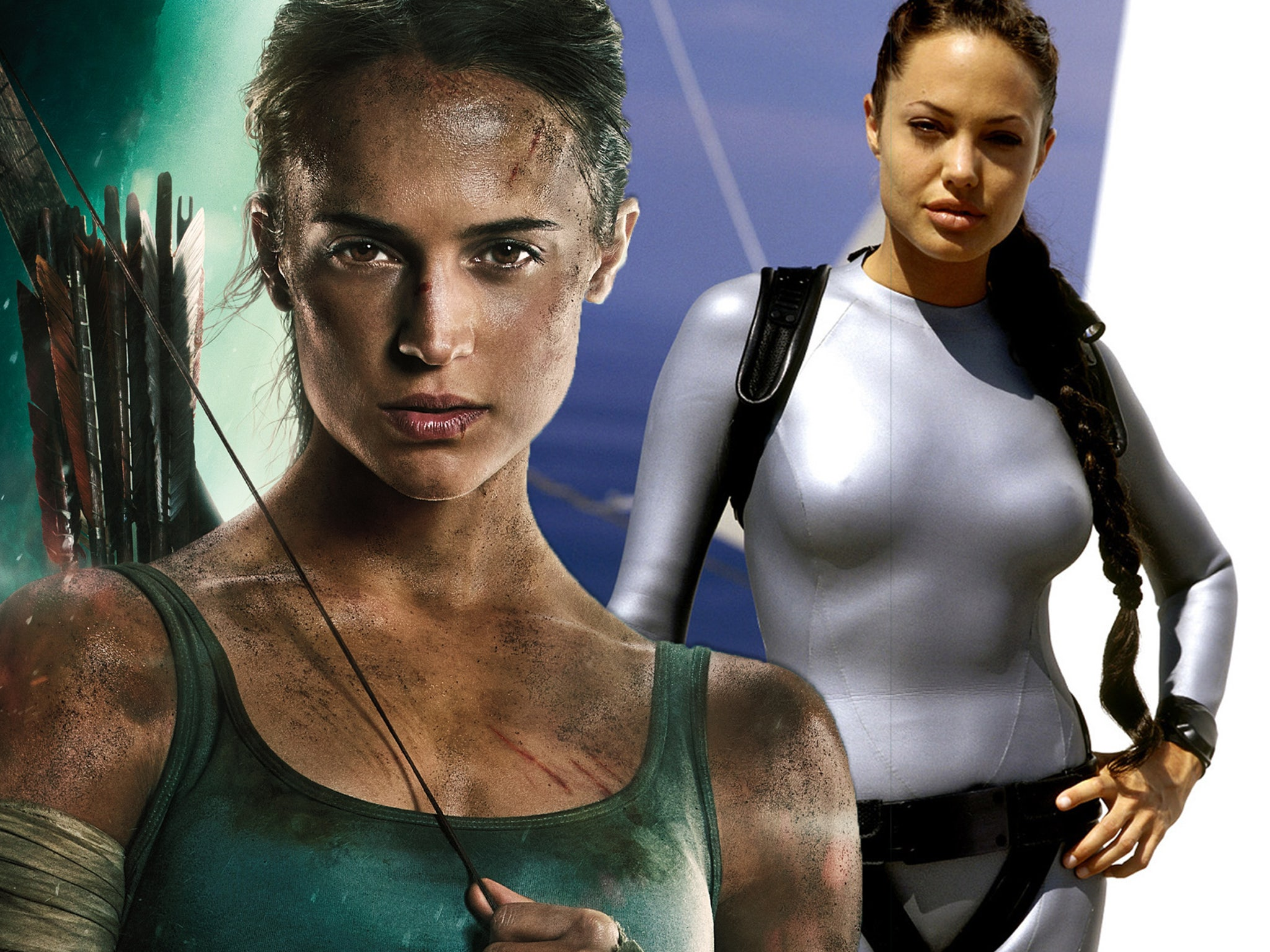 How The New Tomb Raider Isn T Angelina Jolie S Lara Croft