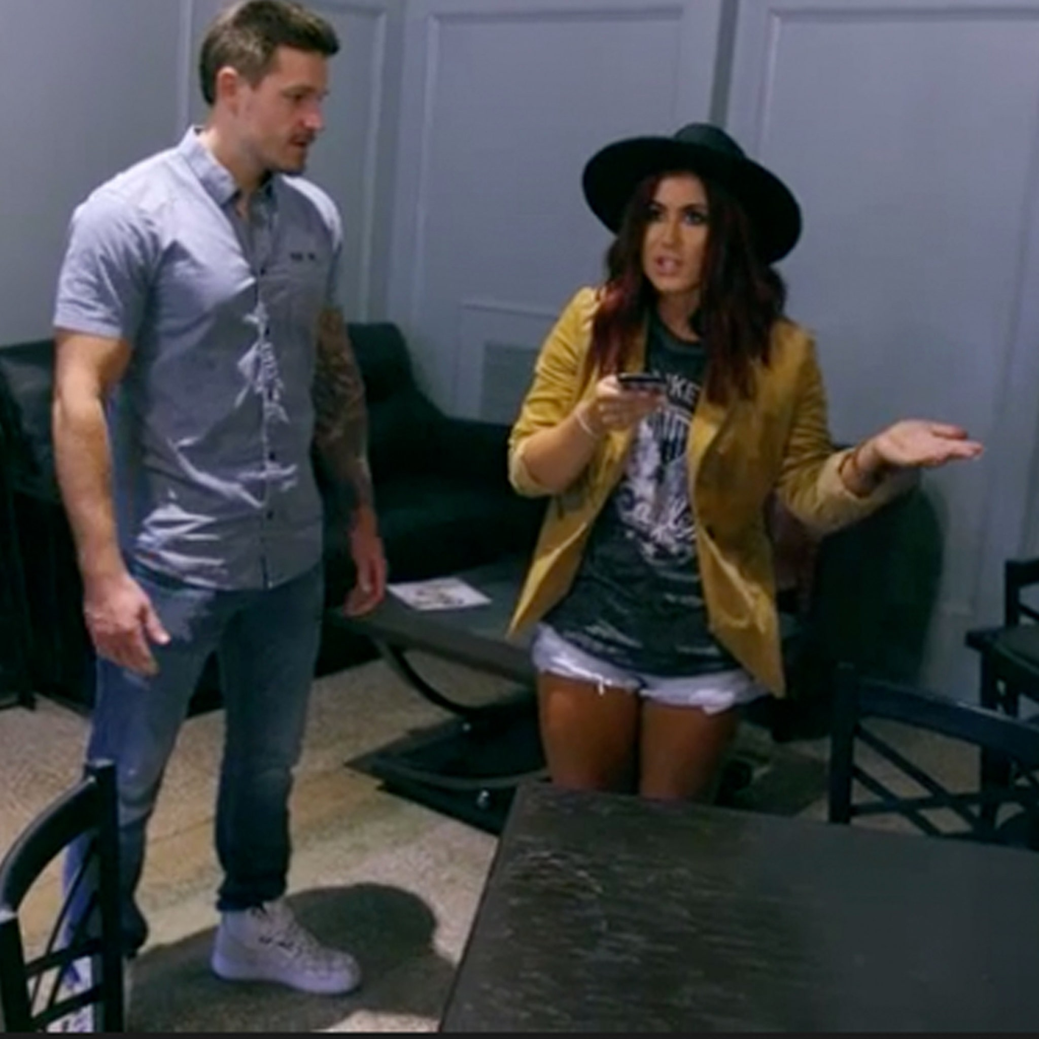 Chelsea Houska Gets Into Heated Custody Despite With Adam Lind S Mother