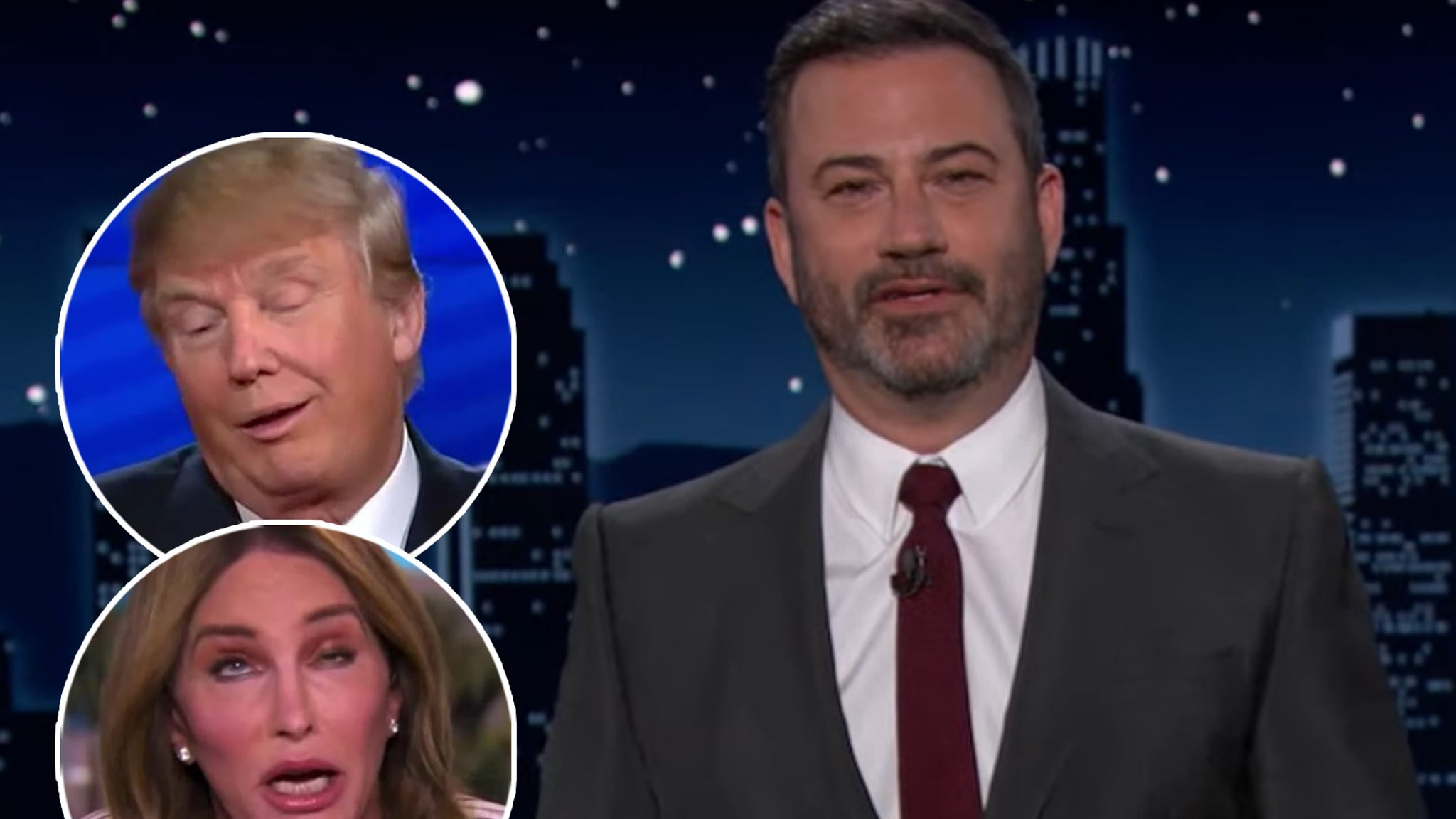 Caitlyn Jenner Strikes Back After Jimmy Kimmel Brands His 'Trump In A Wig'