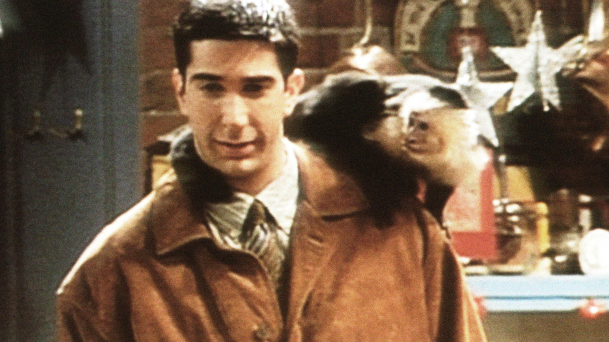 David Schwimmer 'Jealous' of Marcel, says he's friends with Monkey Trainer