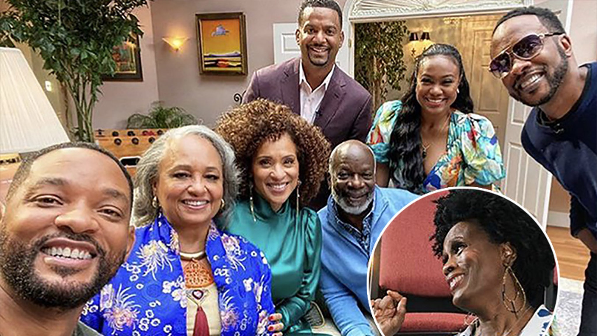 Will Smith Teases Fresh Prince of Bel-Air Reunion — With OG Aunt Viv Janet Hubert – TooFab