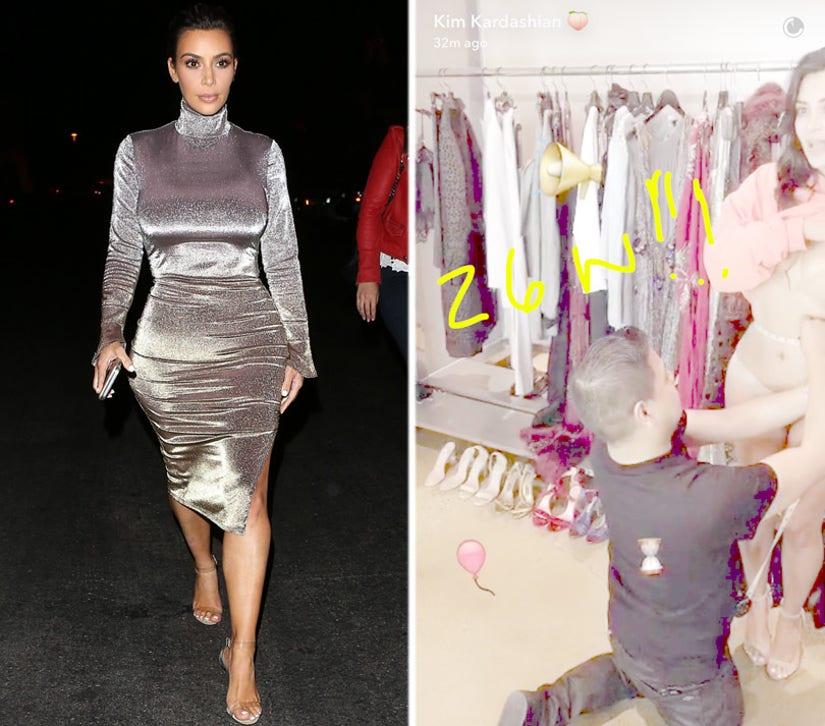 Kim Kardashian Reveals Her Impressive Waist Size After Post-Baby Weight Loss
