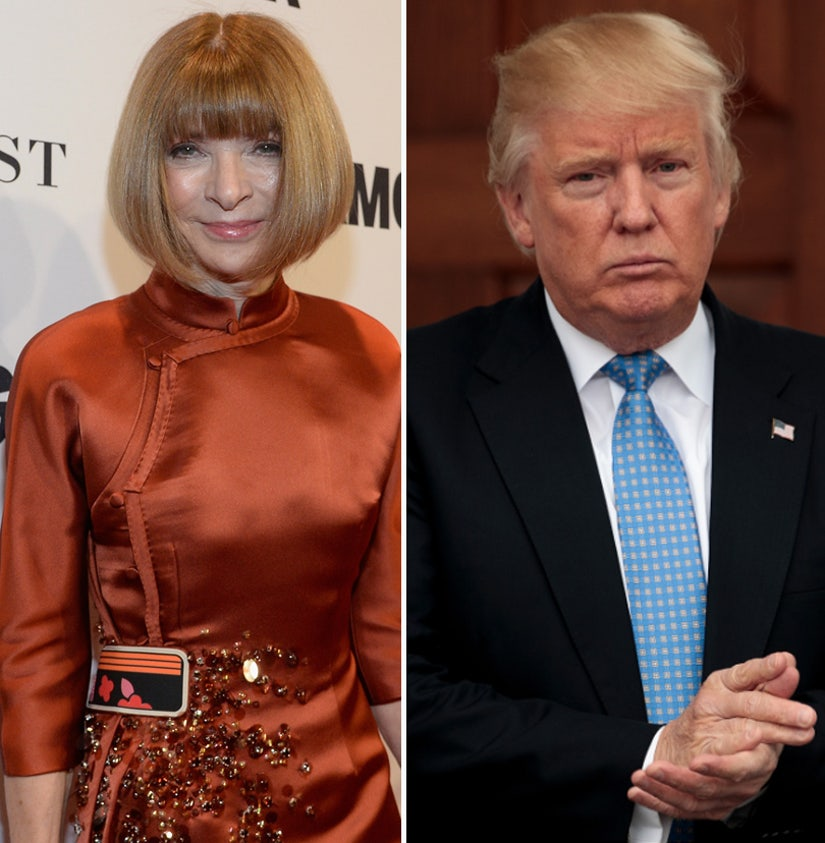 Why Vogue's Anna Wintour Is Apologizing for Trash Talk on a Train