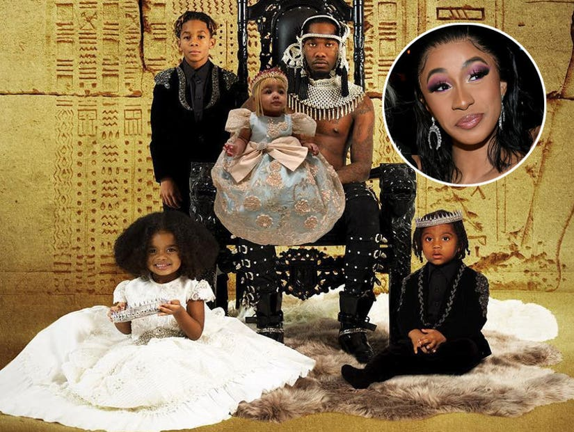 Offset Apologizes To Cardi B In New Album Father Of 4