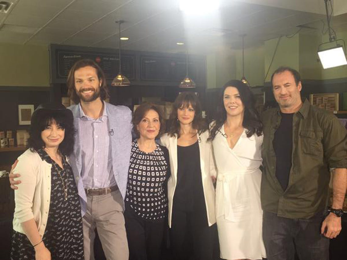 Gilmore Girls Cast Then And Now