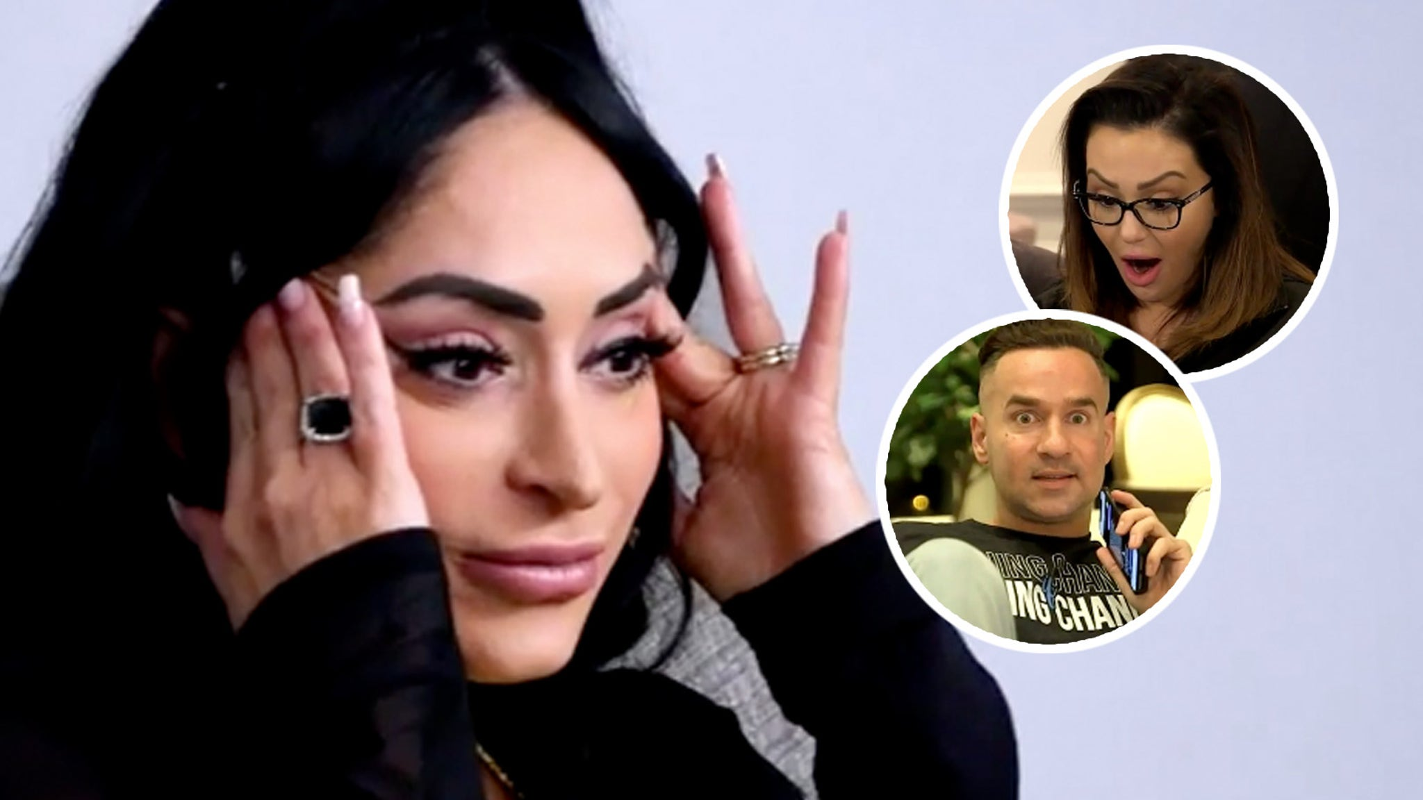 Has Angelina Pivarnick been cheating on her husband?